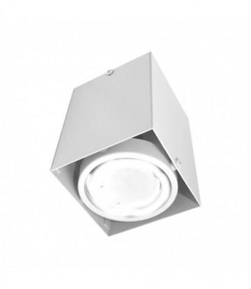 LAMPA SUFITOWA BLOCCO BIAŁA 1x7W GU10 LED