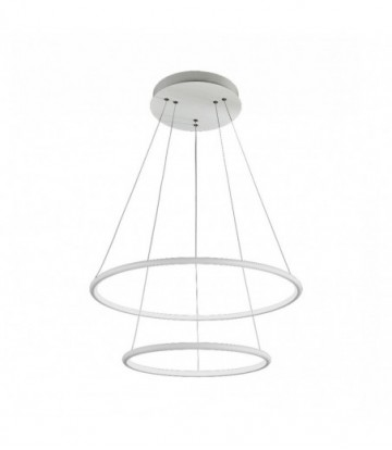 LAMPA WISZĄCA ORION WHITE 53W LED