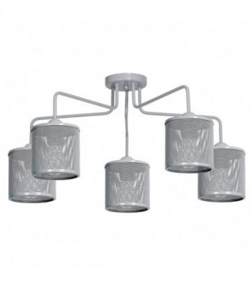 Lampa sufitowa LOUISE GREY 5xE27