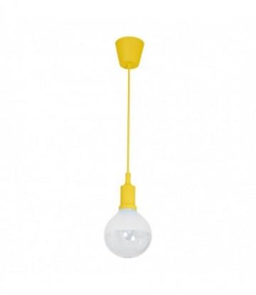 LAMPA WISZĄCA BUBBLE YELLOW 5W E14 LED
