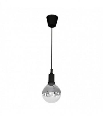 LAMPA WISZĄCA BUBBLE BLACK 5W E14 LED