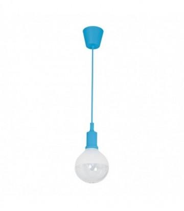 LAMPA WISZĄCA BUBBLE BLUE 5W E14 LED