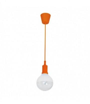 LAMPA WISZĄCA BUBBLE ORANGE 5W E14 LED