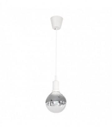 LAMPA WISZĄCA BUBBLE WHITE 5W E14 LED